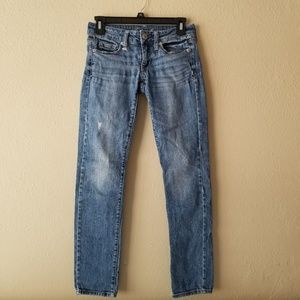 American Eagle Distressed Denim Skinny Jeans